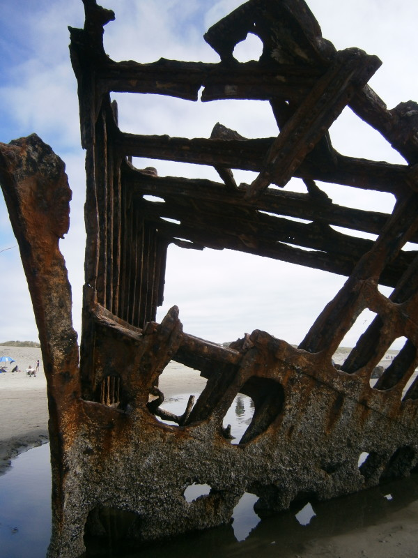 Fort Stevens Ship wreck